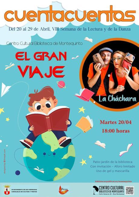 """Las Bibliotecas Cuentan: """"El gran viaje"""" – La Cháchara (Semana de la Lectura y de la Danza 2021)"""