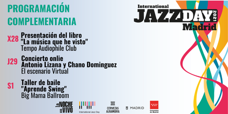 Chano Domínguez y Juanito Makandé, en el International Jazz Day Madrid 2021