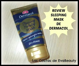 #Dermacol #Notino #SleepingMask #mask #mascarillafacial #lowcost #review #reseña #opinion #skincare #beauty #belleza