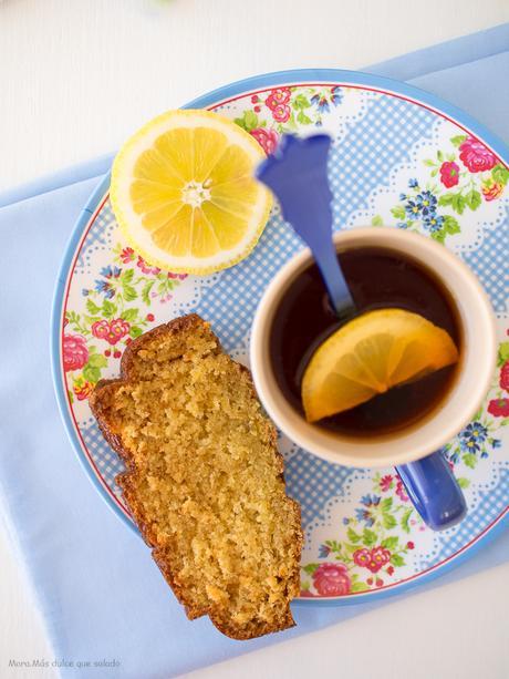 Bizcocho de té al limón