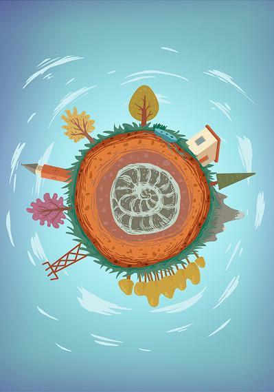 Aprendiendo paleontología con las ilustraciones de Joel Salinas