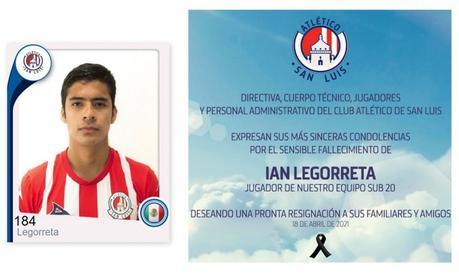 Fallece en accidente vial jugador del Atlético San Luis