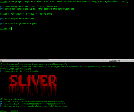 Sliver – Command and Control multiplayer para Red Team – Parte 2 de 2
