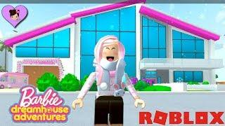 Moving In The Barbie Dreamhouse Adventures Mansion In Roblox Youtube