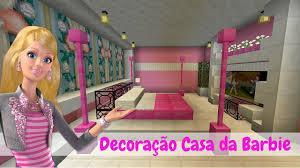 Roblox de barbie guide apk is a entertainment apps on android. Decoracao Casa Da Barbie Barbie Dream House Minecraft Youtube