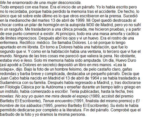 Dafne desvanecida, de José Carlos Somoza