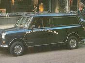 Austin Mini versión furgón camioneta 1980