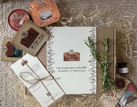 Kit de cata quesos Flor de Esgueva y chocolates Utopick