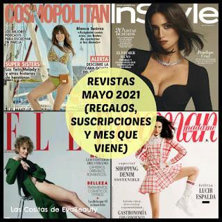 #revistas #revistasmayo #regalosrevistas #suscripcionesrevistas #noticiasmoda #noticiasbelleza #fashion #news #woman #mujer