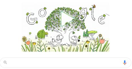 Doodle por el Día de la Tierra 2021