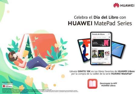 Huawei Libros trae promociones para el Día Internacional del Libro
