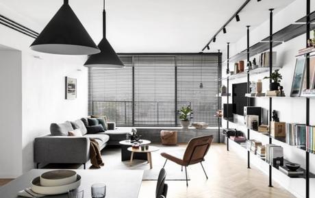 decoración de apartamentos pequeños modernos: Maya Sheinberger 5