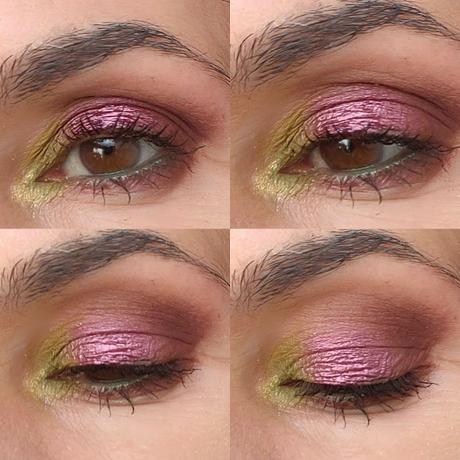 Cuatro maquillajes con LETHAL COSMETICS 10