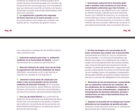 ¿Qué dicen los programas electorales sobre la Atención Primaria de Madrid?
