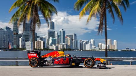 Red Bull celebra la llegada de la F1 a Miami