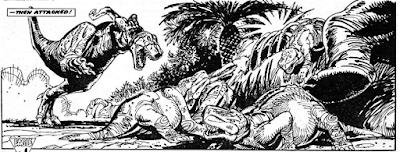 Dinocómics (IV): Colmillo Sangriento