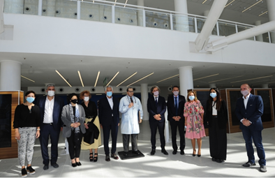 La provincia de San Luis inaugura el hospital más tecnológico del país.
