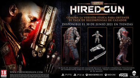 Necromunda Hired Gun presenta su nuevo trailer