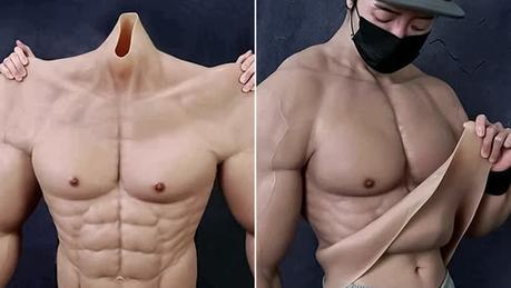 #Tecnologia: Crean traje hiperrealista que hace parecer a los #hombres musculosos