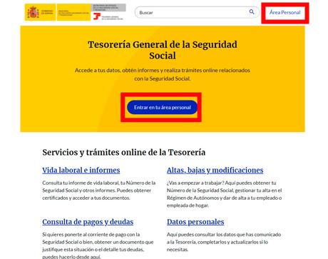 Import@ss, el nuevo portal de la Tesorería General de la Seguridad Social