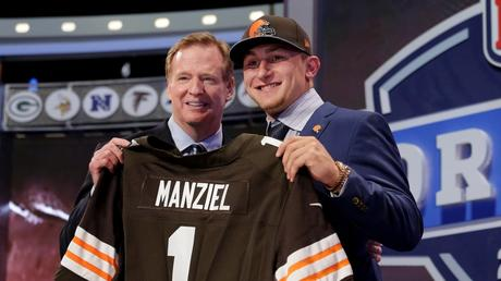 Johnny Manziel Draft 2014 Cleveland
