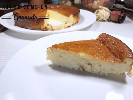 Tarta de queso La Viña sin gluten y sin lactosa
