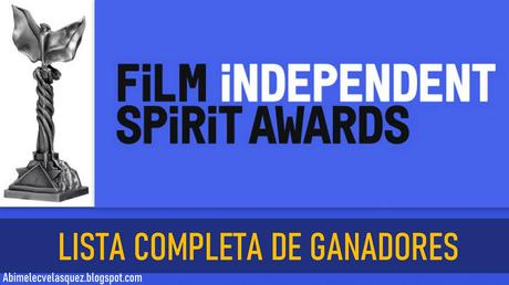 LISTA COMPLETA DE GANADORES DE LOS INDEPENDENT SPIRIT AWARDS 2021