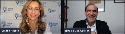 Mi actividad: Webinar sobre 'Ética y Robótica social' con Liliana Acosta en el Canal 'La Thinker Soul'
