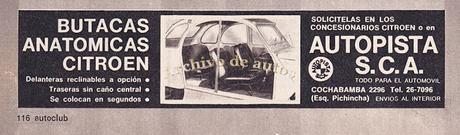 Butacas anatómicas para el Citroën