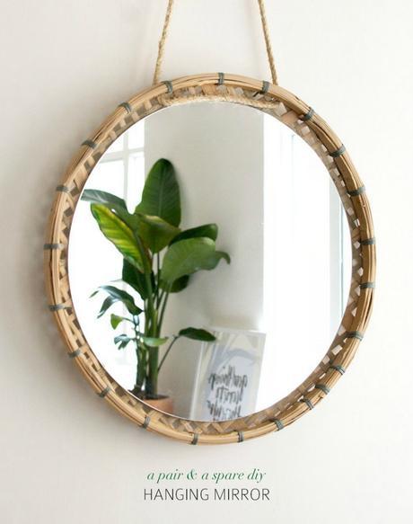 5 Espejos hechos con accesorios de cocina