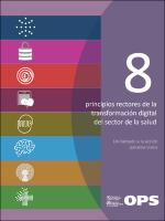 Ocho principios rectores de la transformación digital del sector de la salud. Un llamado a la acción panamericana