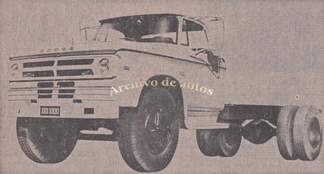 Dodge DD 1000, un camión semipesado del año 1978