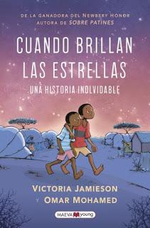Reseña - Cuando brillan las estrellas - Victoria Jamieson - Omar Mohamed
