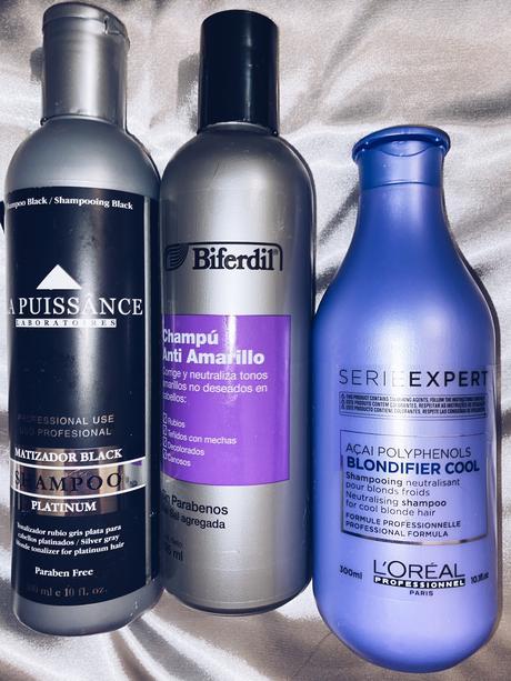 Como mantener el pelo gris y sin amarillos indeseados.