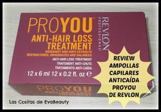 #review #opinion #reseña #pelo #hair #REVLON #PROYOU #NOTINO #beauty #belleza #ampollasanticaida #antihairloss #tratamientoanticaida #cuidadocapilar