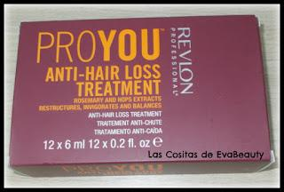 #ampollasanticaida #antihairloss #capilar #tratamientocapilar #revlon #notino #hair #pelo #cabello #anticaida