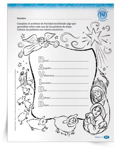Juegos de arreglos navideños en. Clase Para Niños Cristianos Sobre La Navidad - Variaciones ...