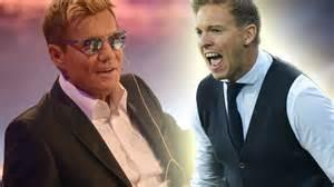 Nagelsmann played at youth level for 1860 münchen and augsburg, before persistent knee injuries ended his career at u19 level. DSDS: Dieter Bohlen kriegt Ansage von Julian Nagelsmann ...