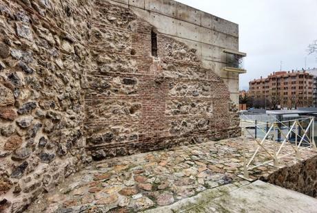 Los restos de la Cerca de Felipe IV