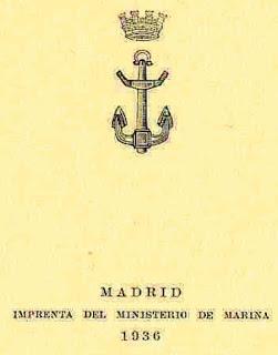 CUERPO DE AUXILIARES DE MÁQUINAS DE LA ARMADA, ESCALAFÓN EN ENERO DE 1936. (y II)