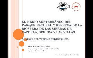 Crónica de las Jornadas sobre Entomoturismo y el Medio Subterráneo