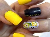 Manicura amarilla reto Nails Eyes
