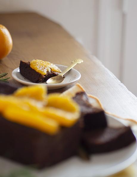 Bizcocho de naranja saludable_19