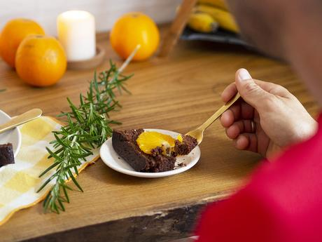 Bizcocho de naranja saludable_16