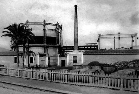 La fábrica de gas Lebón