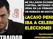 matemáticamente imposible Pedro Sánchez pueda ganar limpiamente unas elecciones España