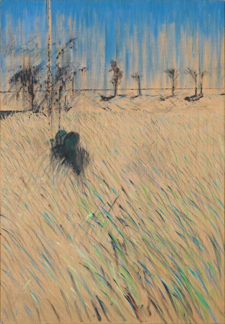 08. study of a figure in a landscap 1952