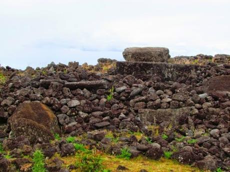 Ahu Te Peu. Rapa Nui