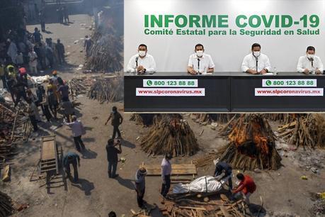 Detectan en SLP la primera variante de la India del coronavirus