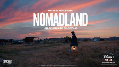 'Nomadland', la gran triunfadora de los Oscar con tres estatuillas, llega hoy a Movistar+ a través de Disney+